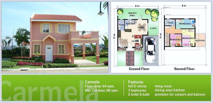 Carmela Model House Camella Legazpi City